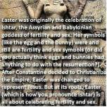 Celebrating Easter IS NOT a sin. Easter was originally a celebration for Jesus before all of the pagan traditions got added.